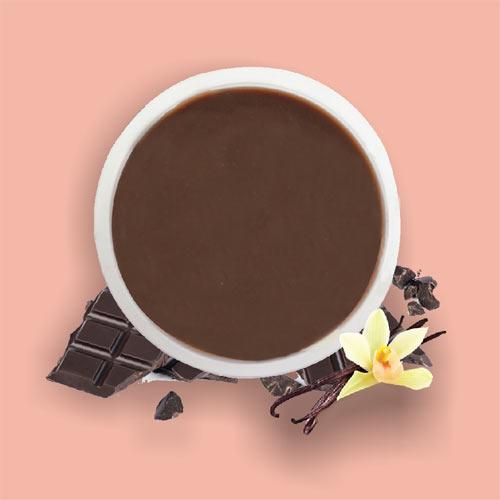 Pudding-coklat-vanilla