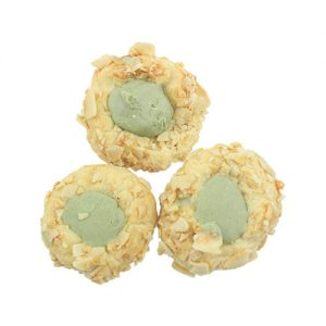 Almond-Green-Tea-Cookies